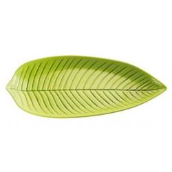 Prato em forma de folha verde NATURAL COLLECTION