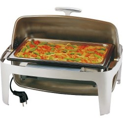 Chafing dish electrico roll top 67x47x45cm