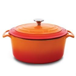 Caçarola ferro fundido lr 0,8lt - 14 cm – laranja
