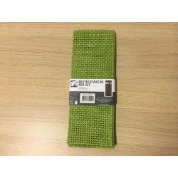 Cutelary bag 6 pcs 24x9 verde