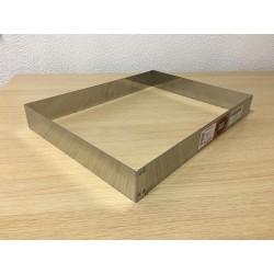 Forma rectangular para bandeja de pastelaria 39,5X29,5X5