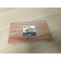 Prato/bandeja melamina imitação de madeira GN 1/4
