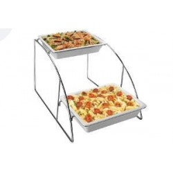 Expositor buffet para container GN 1/2