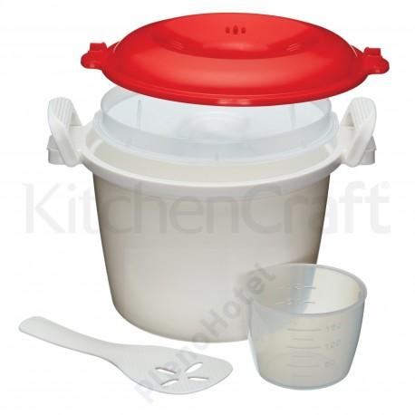 Recipiente para cozinhar arroz no microondas