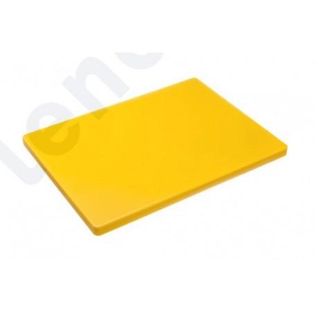 Tábua de corte amarela 40x30x2cm