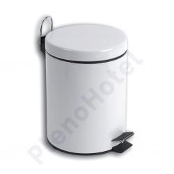 Balde lixo epoxi branco 5L
