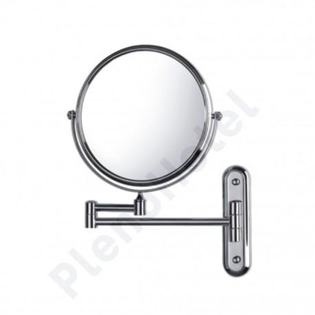 Espelho de aumento inox