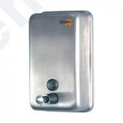 Dispensador de sabão vertical inox brilhante 1.2L