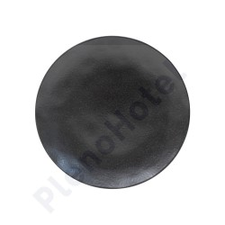 Prato marcador/travessa Ø31cm sable noir, Costa Nova