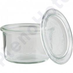 Conjunto de 12 taças + tampa vidro Ø9x6cm 0.20lt