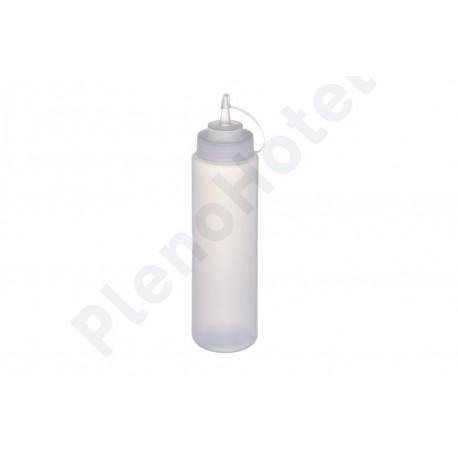 Dispensador para molhos transparente c/tampa 700ml