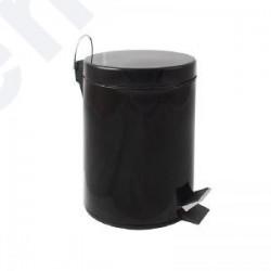 Papeleira c/ pedal 5L preto
