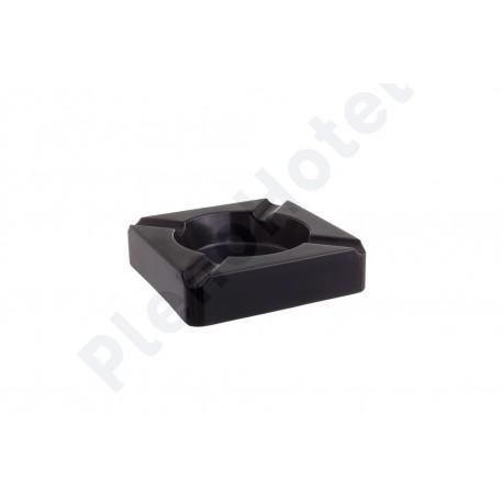 Cinzeiro melamina preto 14x14x3.5cm