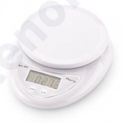Balança electrónica 5kg prato 11cm